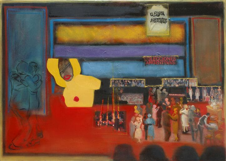 El Fulgor Argentino, homenaje al Grupo de Teatro Catalinas Sur